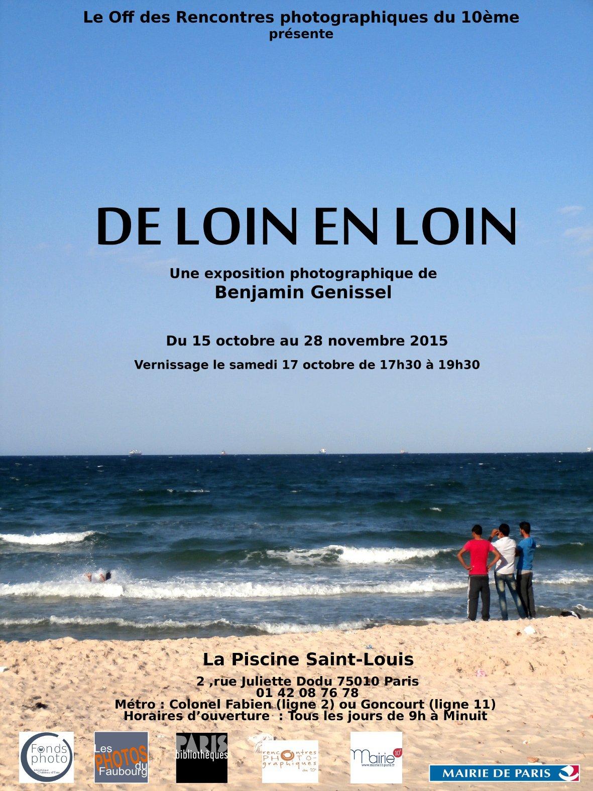 Benjamin Genissel De Loin En Loin Artshebdomedias