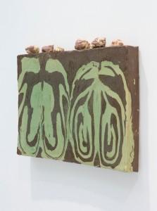 Alfred Painting - Rocks Johan Creten, 2013