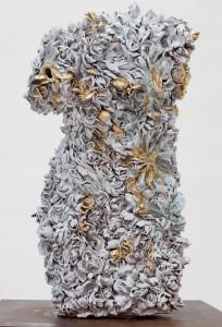 Odore di femmina, Torso, Fire-Works II, The Golden Rule, Johan Creten, 2011-2012.