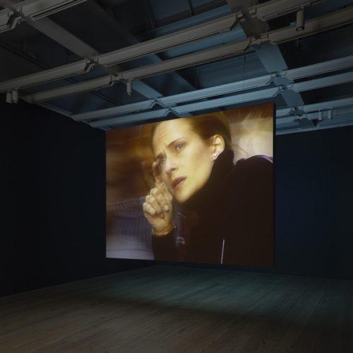 Vue de l'exposition Astro Noise, Laura Poitras.