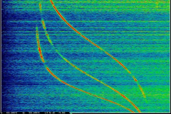 «ANARCHIST», données enregistrées par un satellite (interceptées le 27 mai 2009), Laura Poitras, 2016