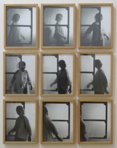 Toile habitée, Helena Almeida, 1976.