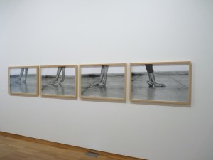 Séduire (détails), Helena Almeida, 2001.