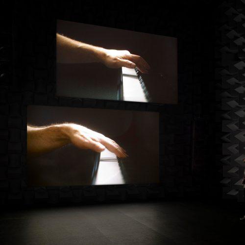 «Ravel Ravel Unravel» (détail), Anri Sala, 2013.