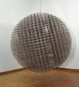 Sphère Trame François Morellet, 1989.