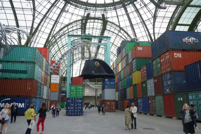 Vue de l'exposition « Empires », Monumenta 2016, Huang Yong Ping