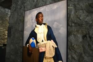 Jean-Baptiste Belley, série Diaspora, Omar Victor Diop, 2014.
