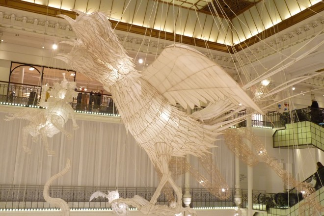 « La Chanson du blanc, les oiseaux Chu », Ai Weiwei, 2016