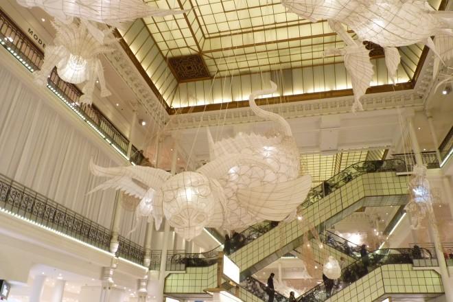 «La Chanson du blanc, le Lu» (au centre), Ai Weiwei, 2016