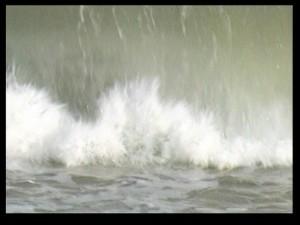 Vibration, tableau-vidéo, Richard Skryzak, 2013.