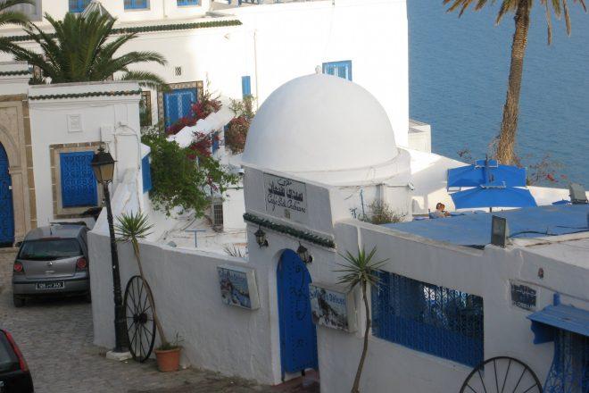 Le café Sidi Chebaane