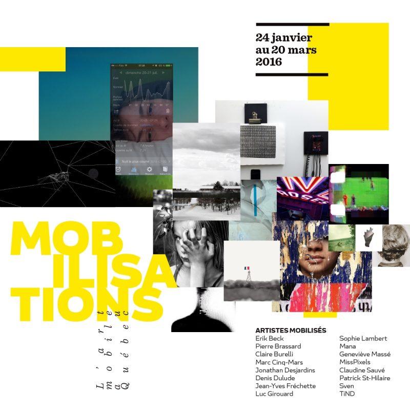 L'affiche de l'exposition Mobilisations.
