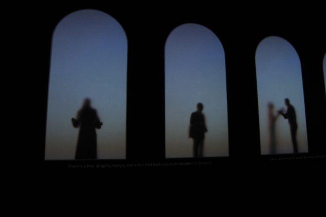 «Guests», Krzysztof Wodiczko, 2011<br><br>