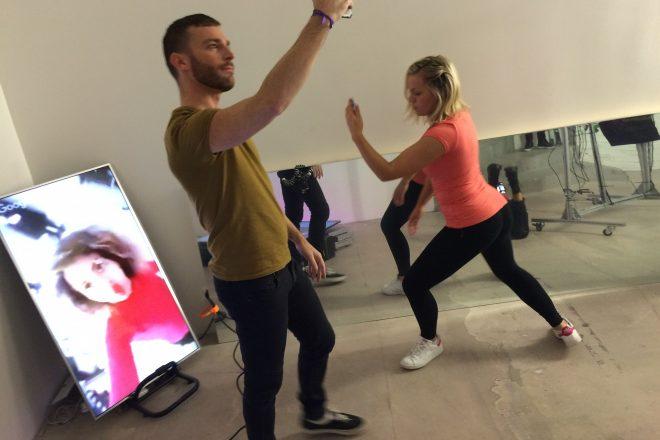 Danse avec les Smartphones à l'Asia Now