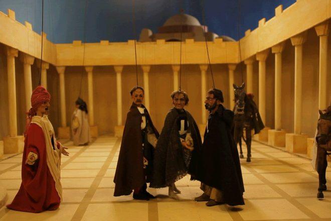 «Cabaret Crusades: The Horror Show File» (arrêt sur image), Wael Shawky, 2010