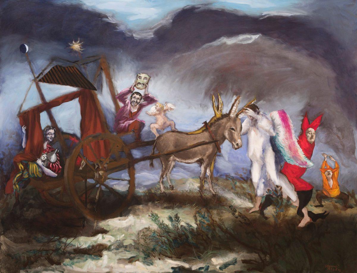 Le théâtre de Don Quichotte, Gérard Garouste