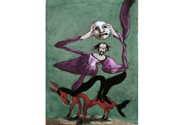 «Le Masque», Gérard Garouste, 1998