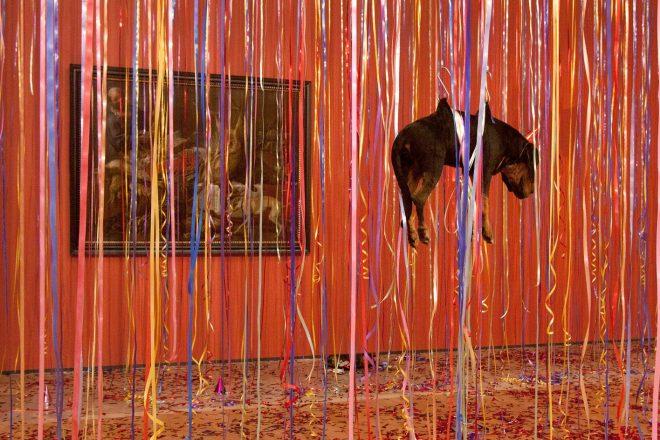 «The Carnival of the Dead Streetdogs», Jan Fabre, 2006