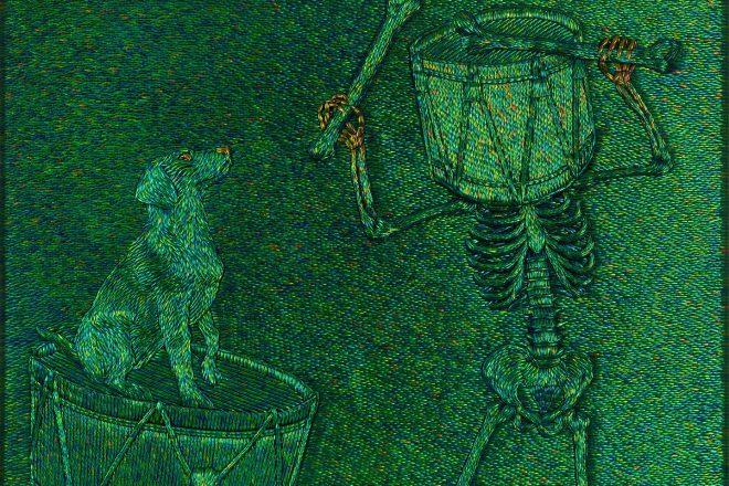 «The loyal ecstasy of death» (série «Vanitas vanitatum, omnia vanitas»), Jan Fabre, 2016