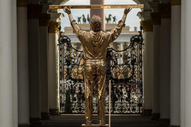 Jan Fabre en majesté à l'Ermitage