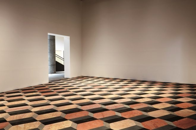 «Untitled (stone floor)», Olafur Eliasson, 2004