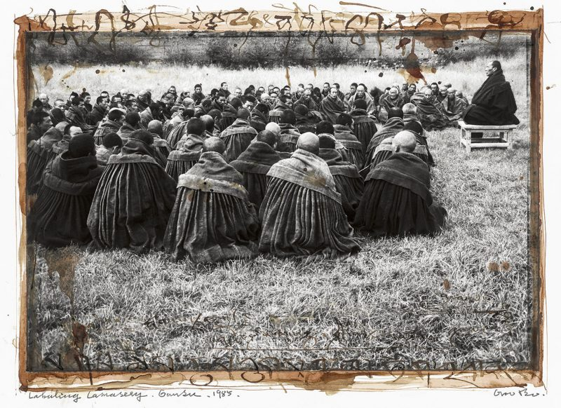 Offrande au peuple du Tibet (série), Gao Bo, 2009.