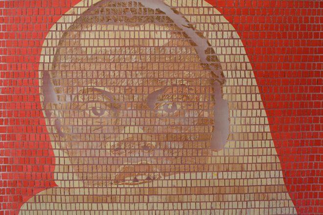 « Avenir mural », Aimé Mpane