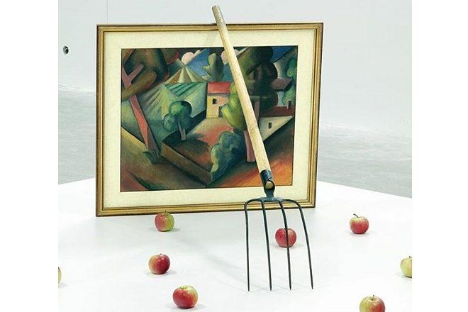 « Triptychos Post Historicus » (série), Braco Dimitrijević, 1982