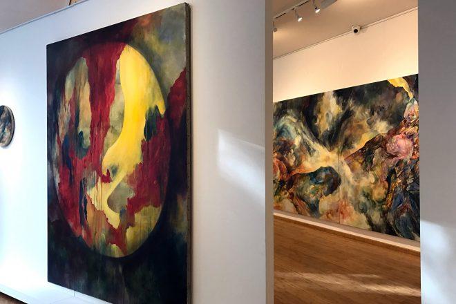 L'ardente peinture d'Emilie Sévère