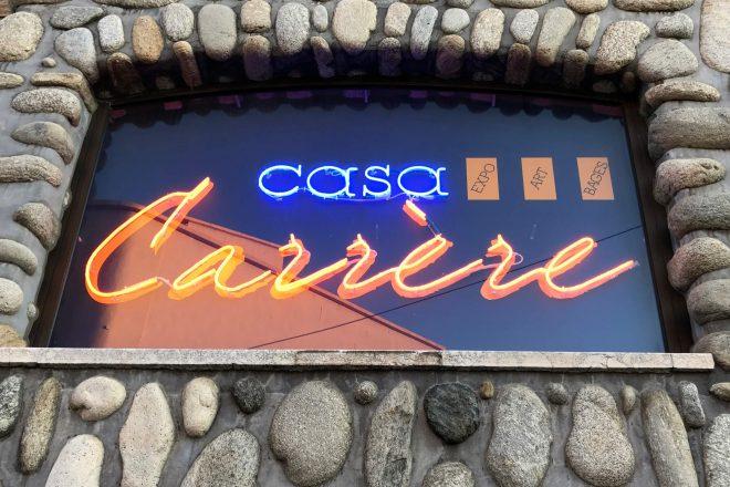 La Casa Carrère (détail de la façade)