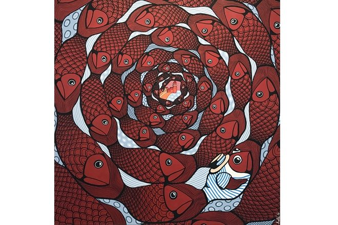 « Le banc des sardines », Anita Garcia