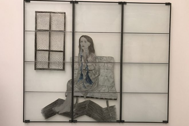 «Luminary», Kiki Smith, 2012. Exposition internationale «Viva Arte Viva»