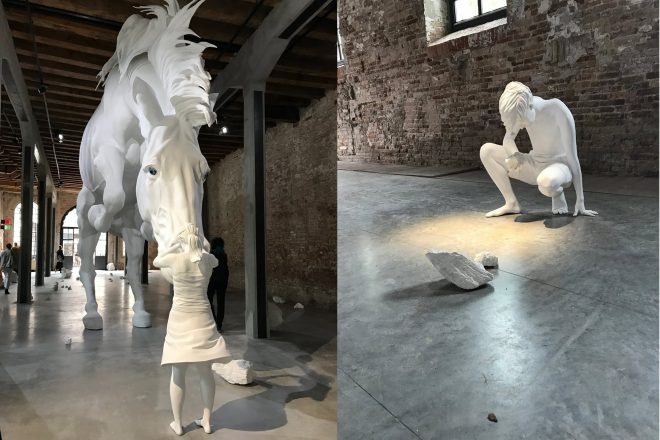« Il Problema del Cavallo », Claudia Fontes, 2017. Pavillon argentin.