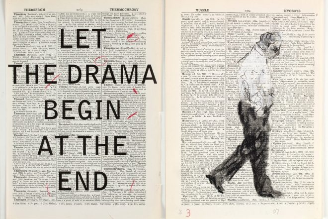 « Second hand Reading » (arrêt sur image vidéo), William Kentridge, 2013
