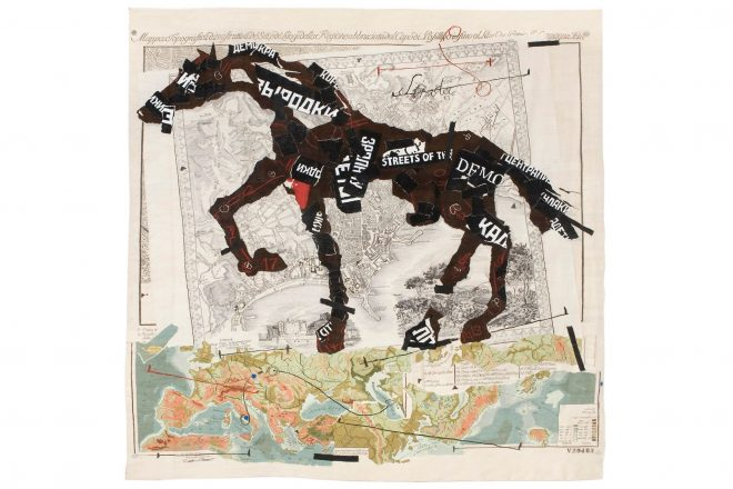 « Streets of the City », William Kentridge, 2009
