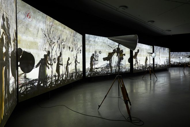 « More Sweetly Play the Dance », William Kentridge, 2015