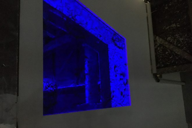 « After Morris Blue », Anne Laure Sacriste