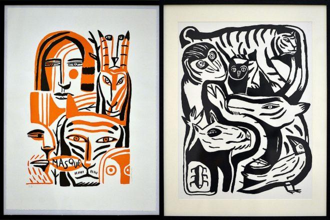 Lithographies signées Laurent Corvaisier