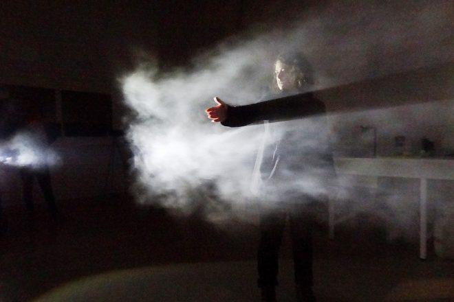« Néphélographe – Impression de brouillard », Ana Rewakowicz avec Camille Duprat