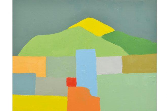« Sans titre », Etel Adnan, 2012