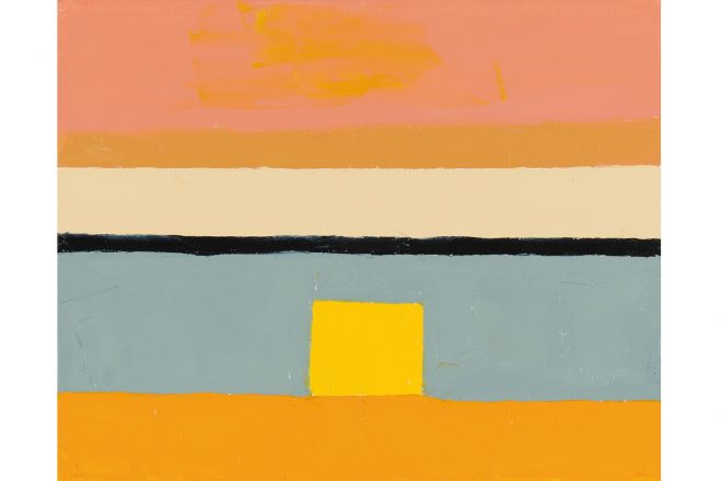 « Sans titre », Etel Adnan, 2010