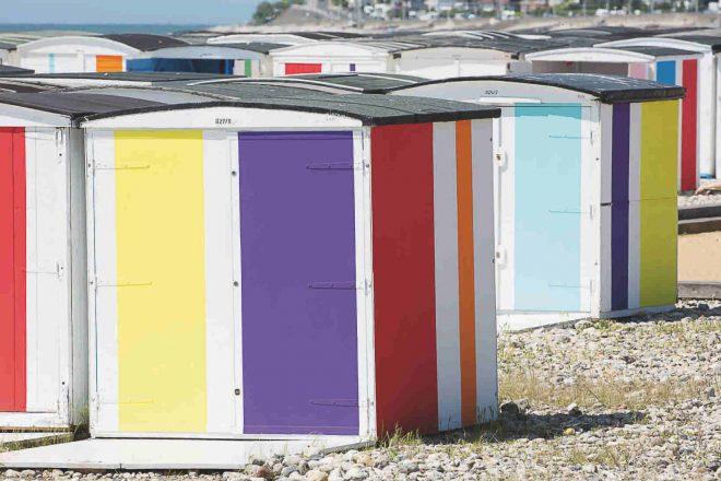 «Couleurs sur la plage », Karel Martens
