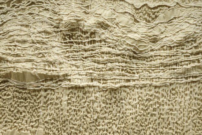 « Cartographies, Quelque chose dans le ciel III » (détail), Sandrine Thiébaud-Mathieu, 2014