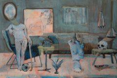 Pascal Vochelet laisse le dernier mot à la peinture
