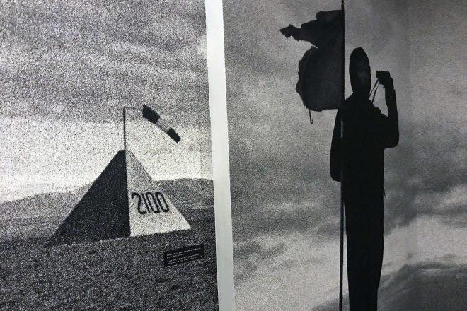 Extraits de la série «De finibus terrae», Alain Willaume. Vue de l'exposition «Mélancolie des collines»