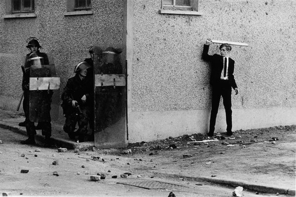 « Northern Ireland, The Bogside, Londonderry », Don McCullin, 1971