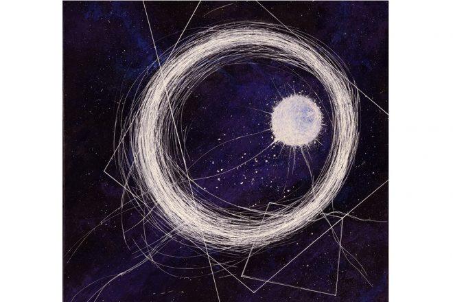 Exposition «Géométrie spatiale». «Ether», Axël Kriloff, 2019
