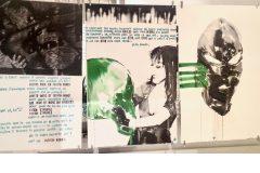 Artaud et les coïncidences sérigraphiques de Bruno Bressolin