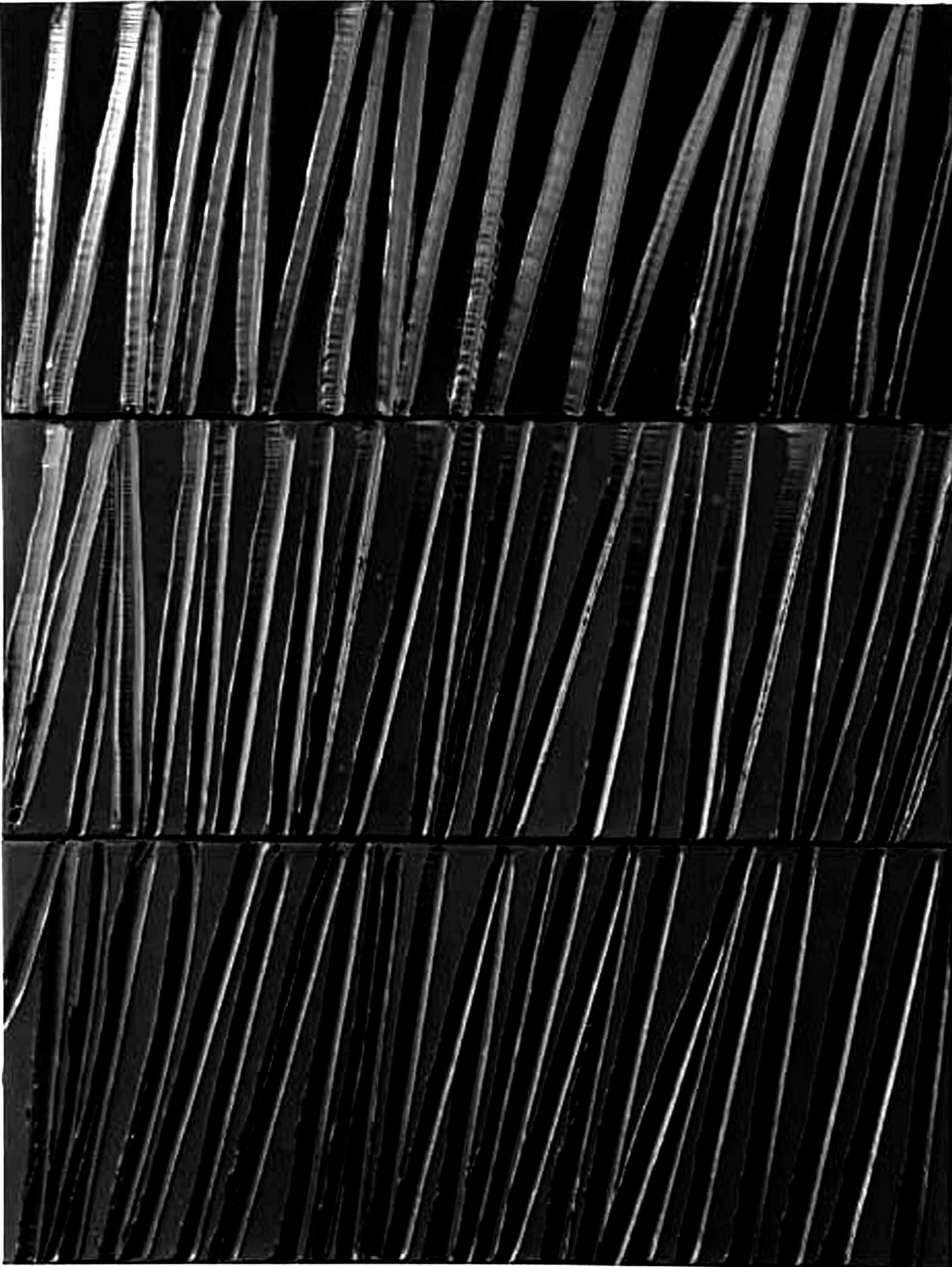 Pierre Soulages, courtesy galerie Alice Pauli