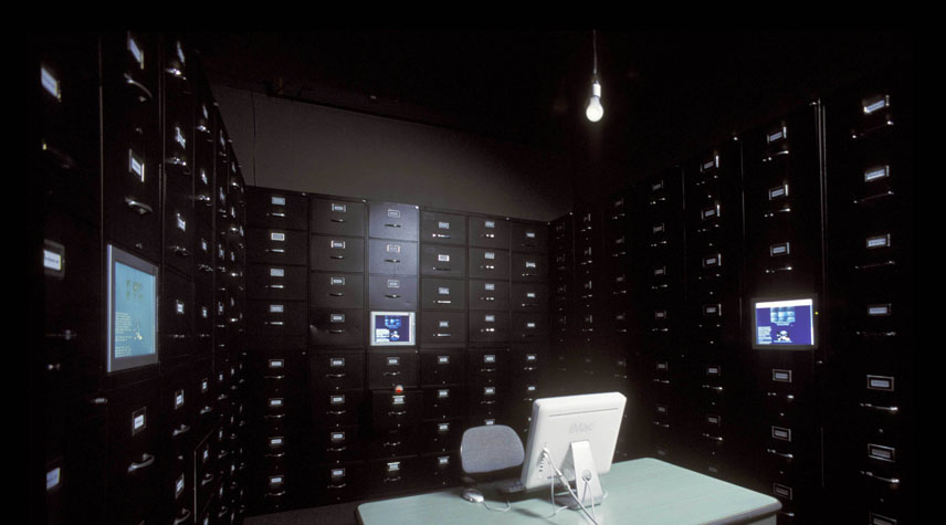 The File Room, installation